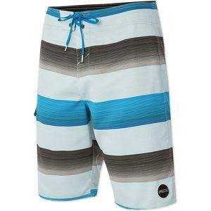 O'Neill Santa Cruz Stripe Board Shorts NWT Size 44